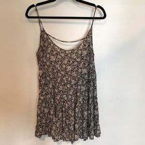 Brandy Floral Strappy Tee
